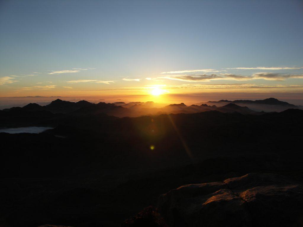 Pierwsze promienie słońca