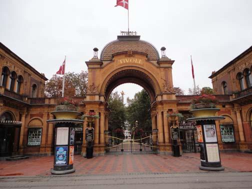 Wejście to Pakrku Tivoli