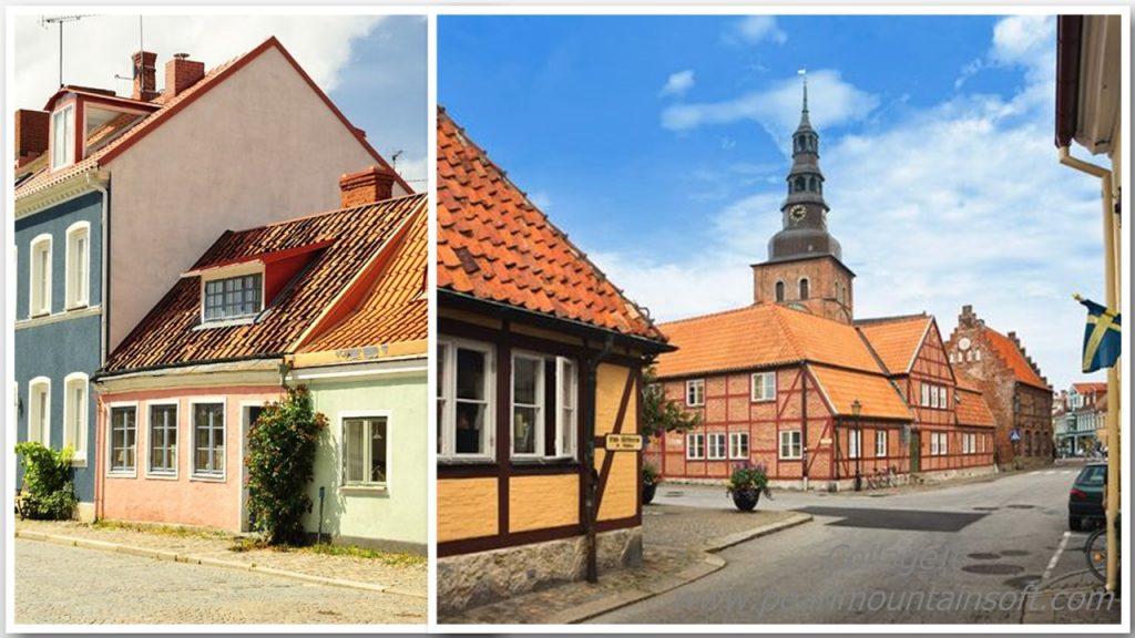 Klimatyczne uliczki Ystad
