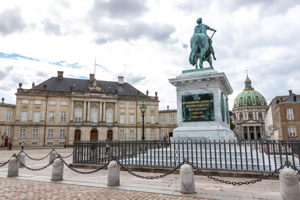 Amalienborg z innego ujęcia